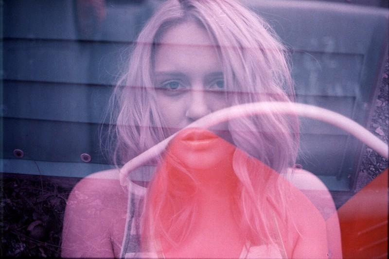 model amber rose beidler shot on 35mm film